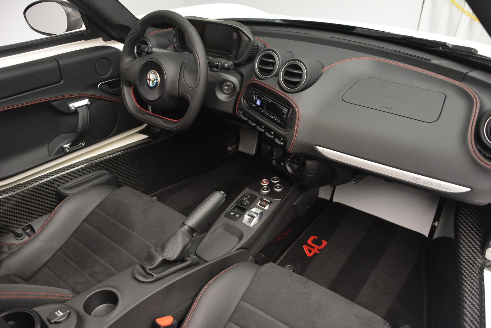 New 2015 Alfa Romeo 4C Spider  For Sale In Greenwich, CT 10_p28