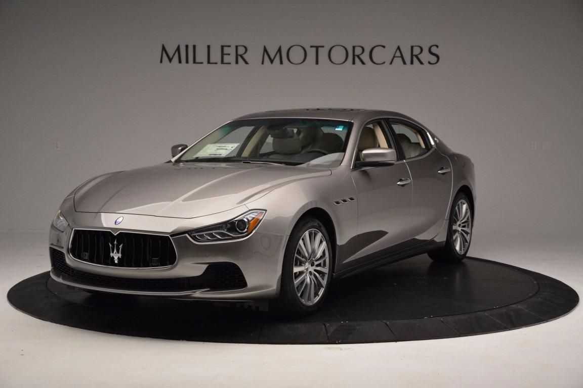 New 2017 Maserati Ghibli S Q4 EX-Loaner For Sale In Greenwich, CT 1018_main