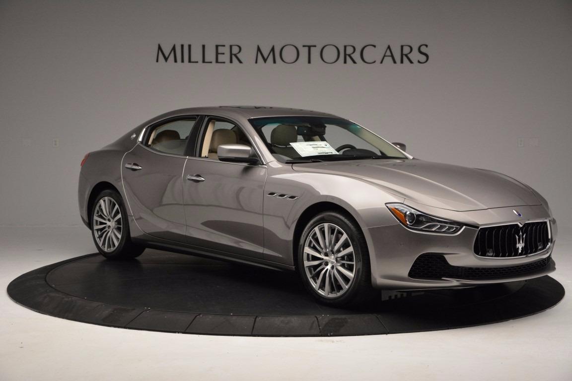 New 2017 Maserati Ghibli S Q4 EX-Loaner For Sale In Greenwich, CT 1018_p10