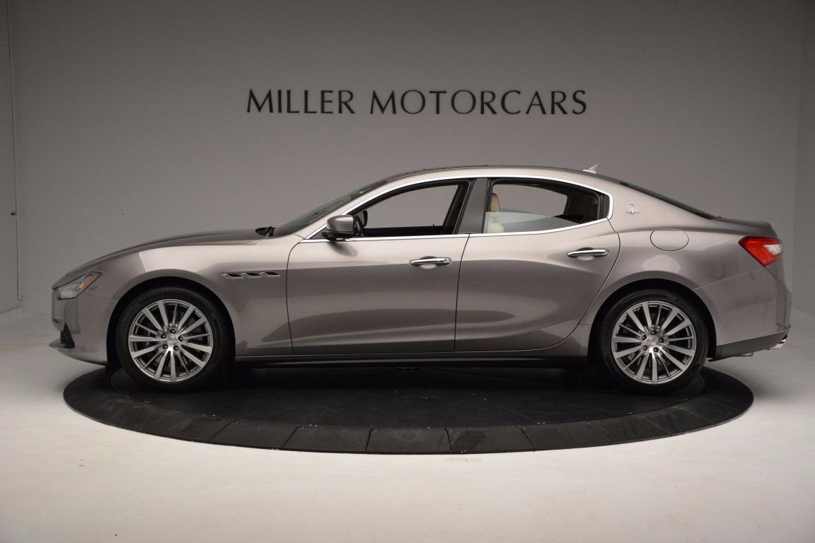 New 2017 Maserati Ghibli S Q4 For Sale In Greenwich, CT 1028_p3