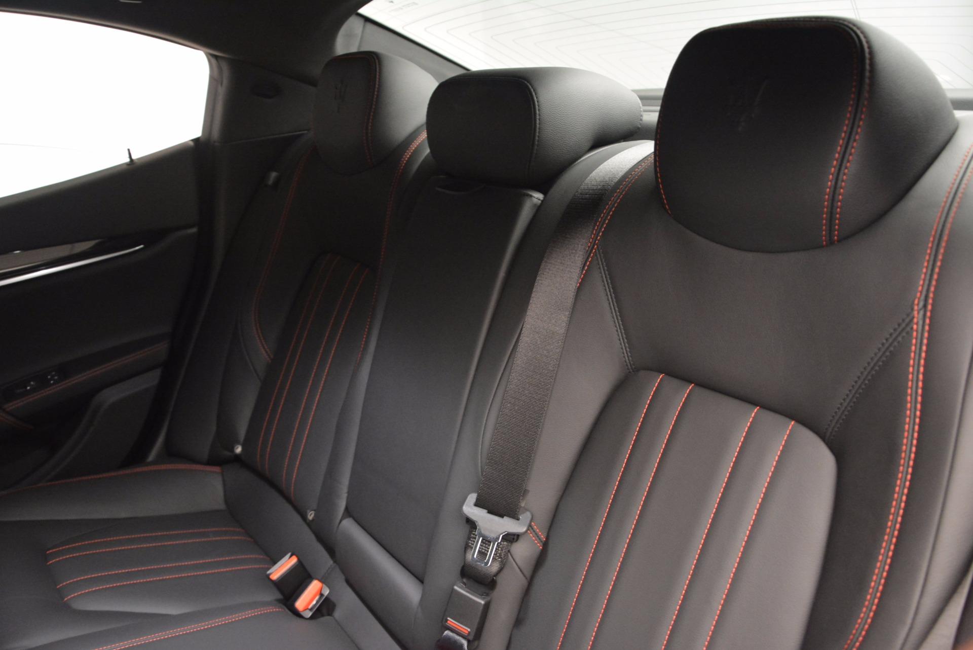 New 2017 Maserati Ghibli S Q4 For Sale In Greenwich, CT 1029_p18