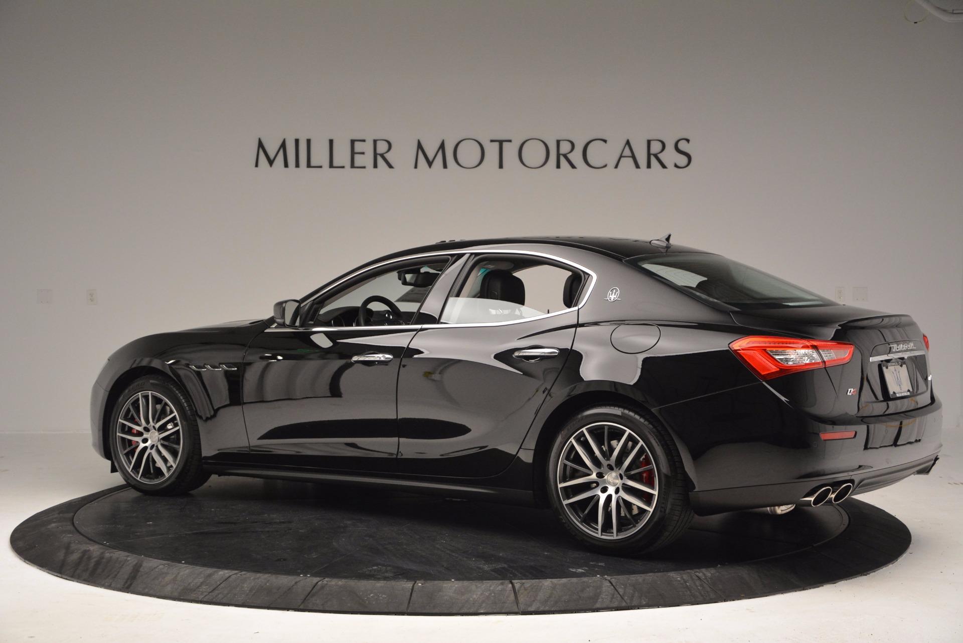 New 2017 Maserati Ghibli S Q4 For Sale In Greenwich, CT 1029_p4