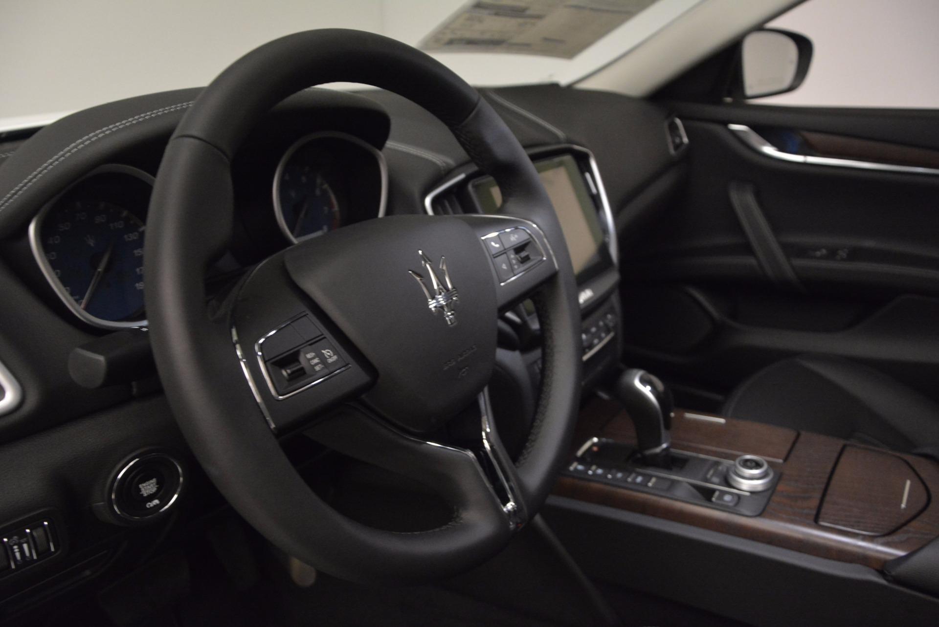 New 2017 Maserati Ghibli S Q4 For Sale In Greenwich, CT 1030_p16