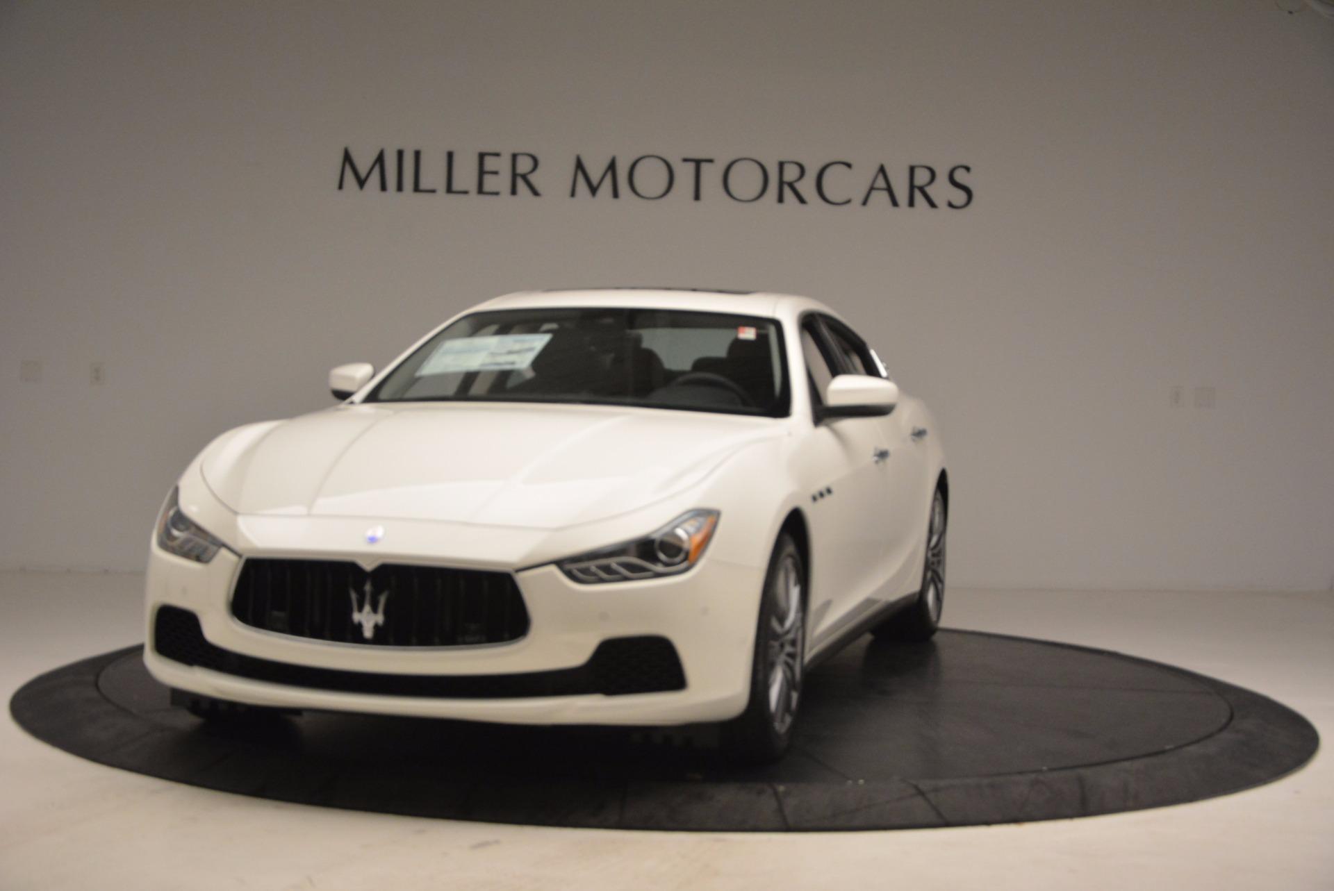 New 2017 Maserati Ghibli S Q4 EX-Loaner For Sale In Greenwich, CT 1031_main