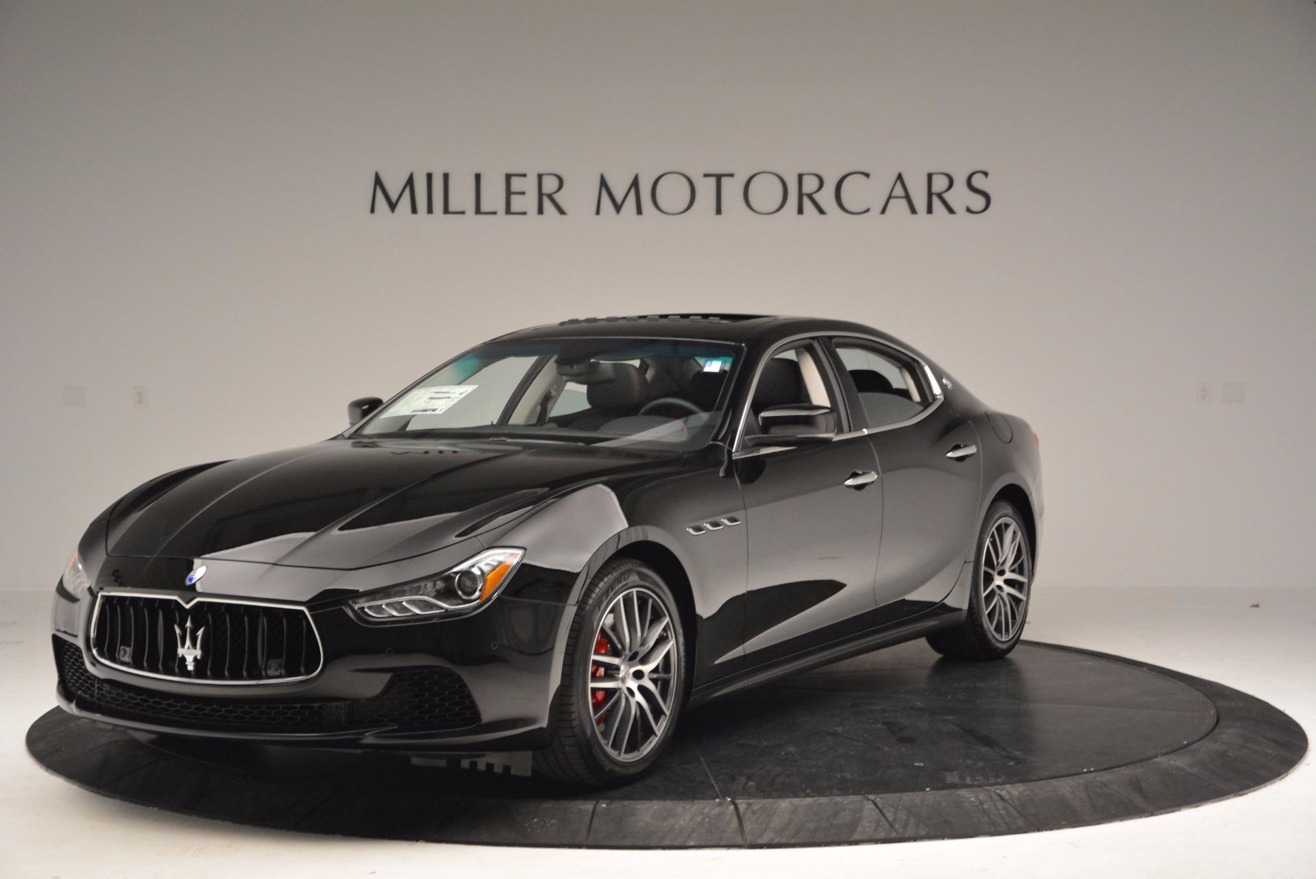 New 2017 Maserati Ghibli S Q4 For Sale In Greenwich, CT 1038_main