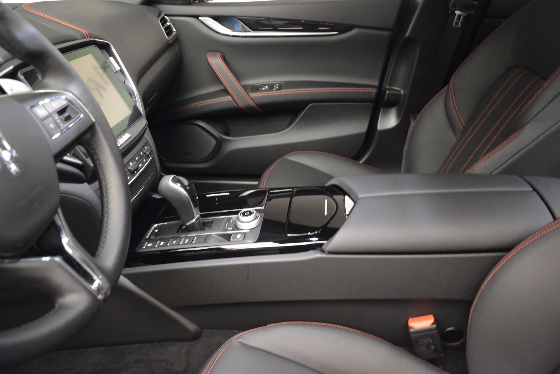 New 2017 Maserati Ghibli S Q4 For Sale In Greenwich, CT 1038_p13