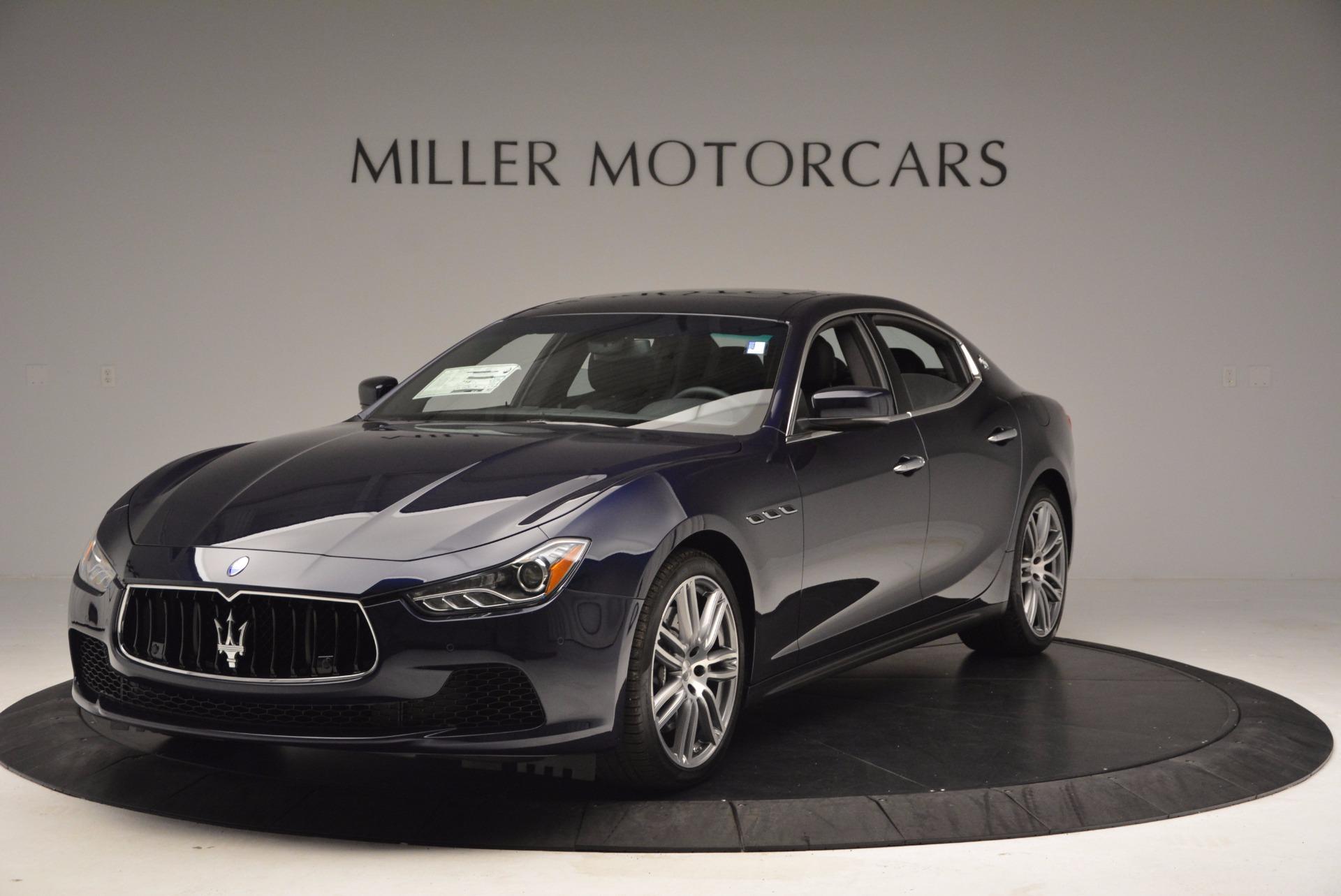 New 2017 Maserati Ghibli S Q4 For Sale In Greenwich, CT 1041_main