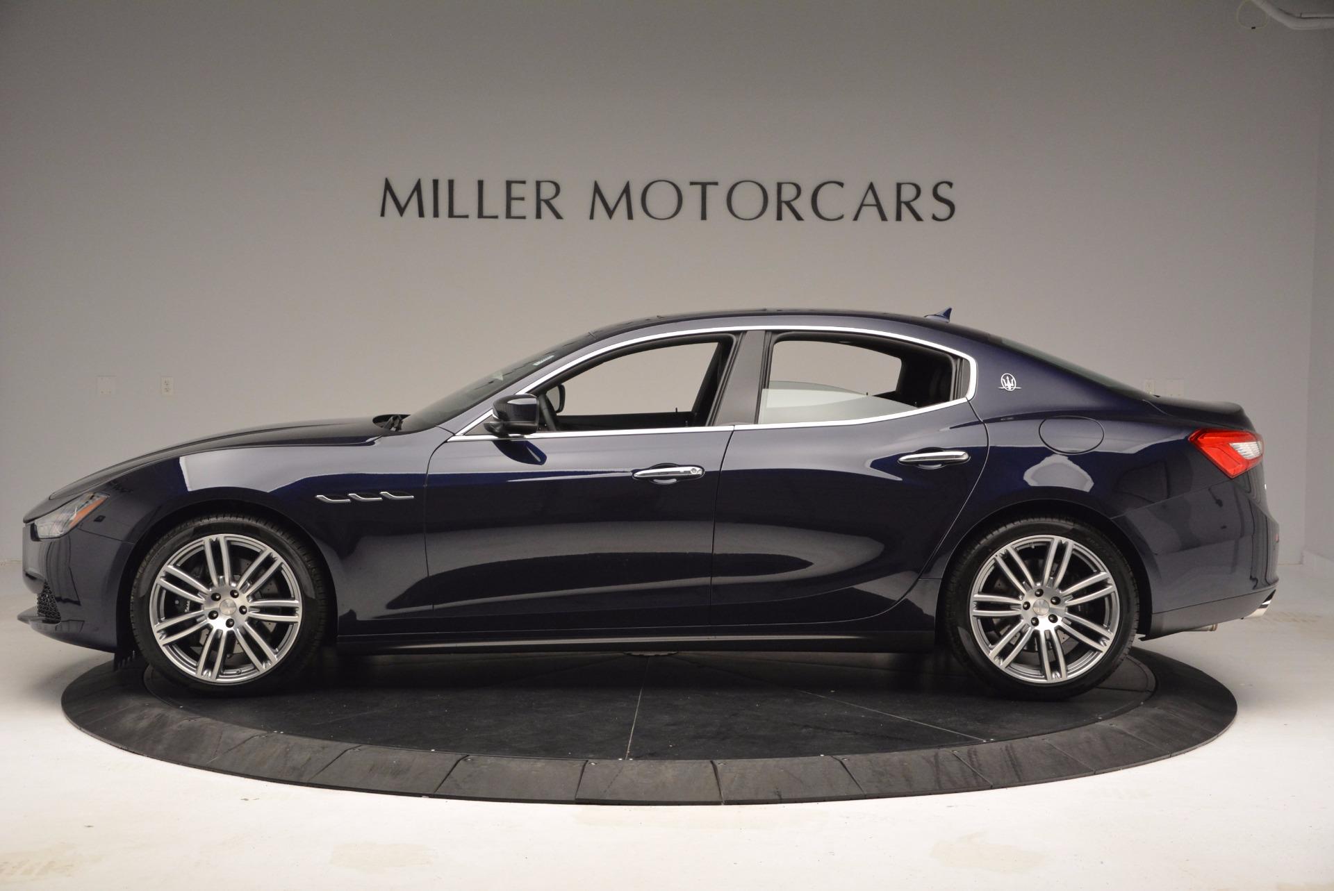 New 2017 Maserati Ghibli S Q4 For Sale In Greenwich, CT 1041_p3