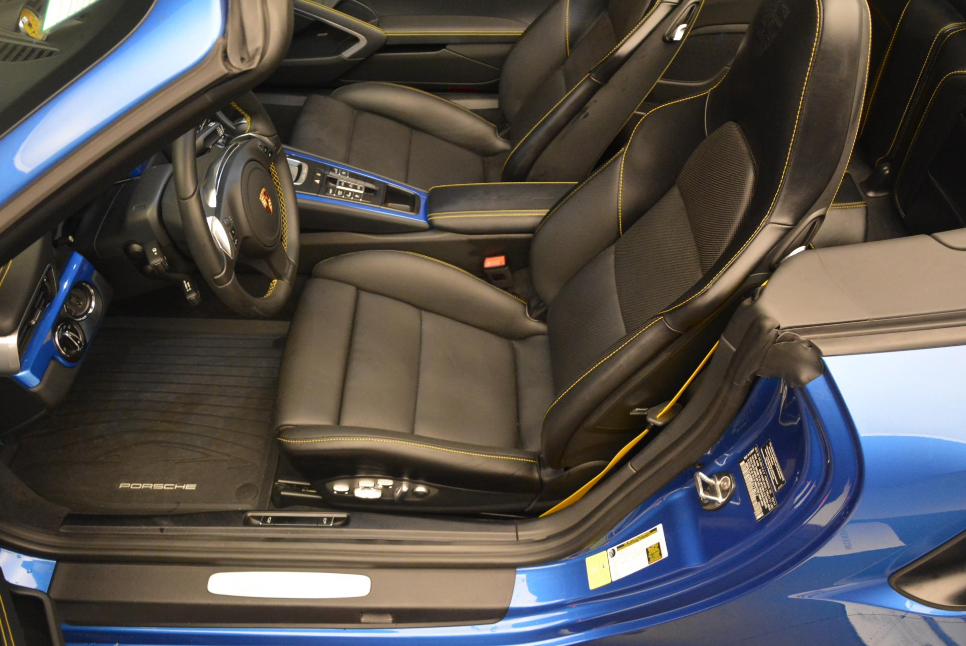 Used 2014 Porsche 911 Turbo S For Sale In Greenwich, CT 105_p20