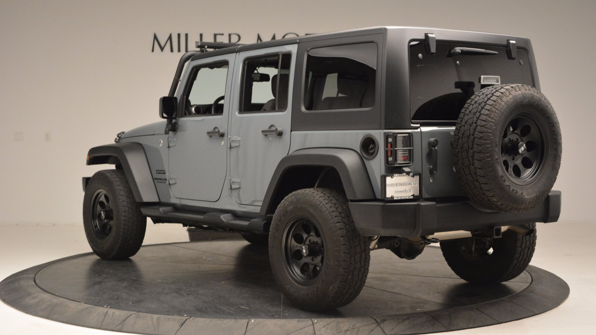 Used 2014 Jeep Wrangler Unlimited Sport For Sale In Greenwich, CT 1068_p5