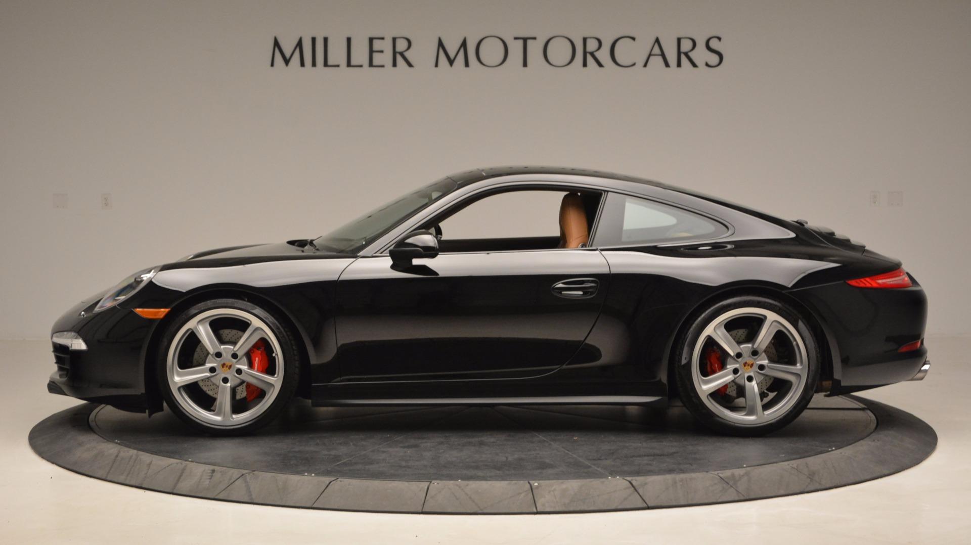 Used 2014 Porsche 911 Carrera 4S For Sale In Greenwich, CT 1076_p3