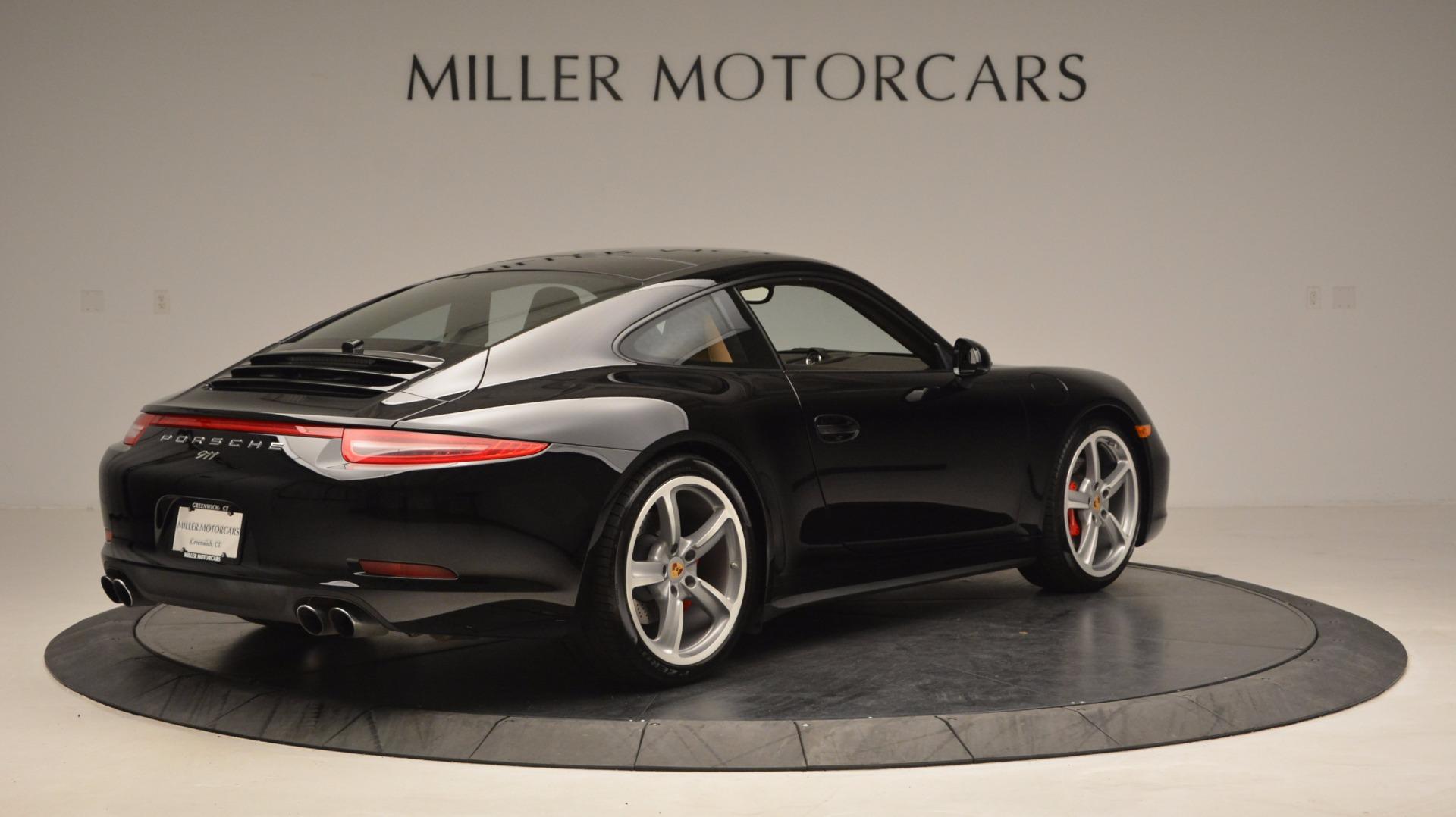 Used 2014 Porsche 911 Carrera 4S For Sale In Greenwich, CT 1076_p7
