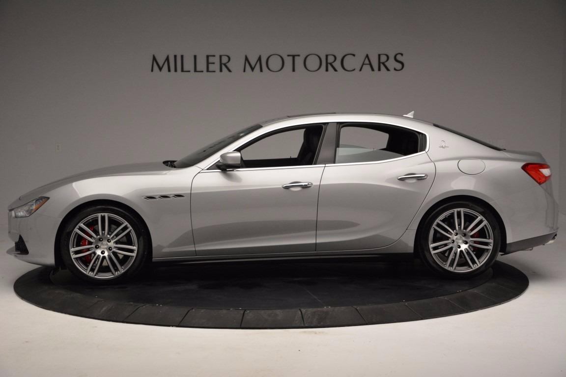 New 2017 Maserati Ghibli S Q4 For Sale In Greenwich, CT 1084_p3