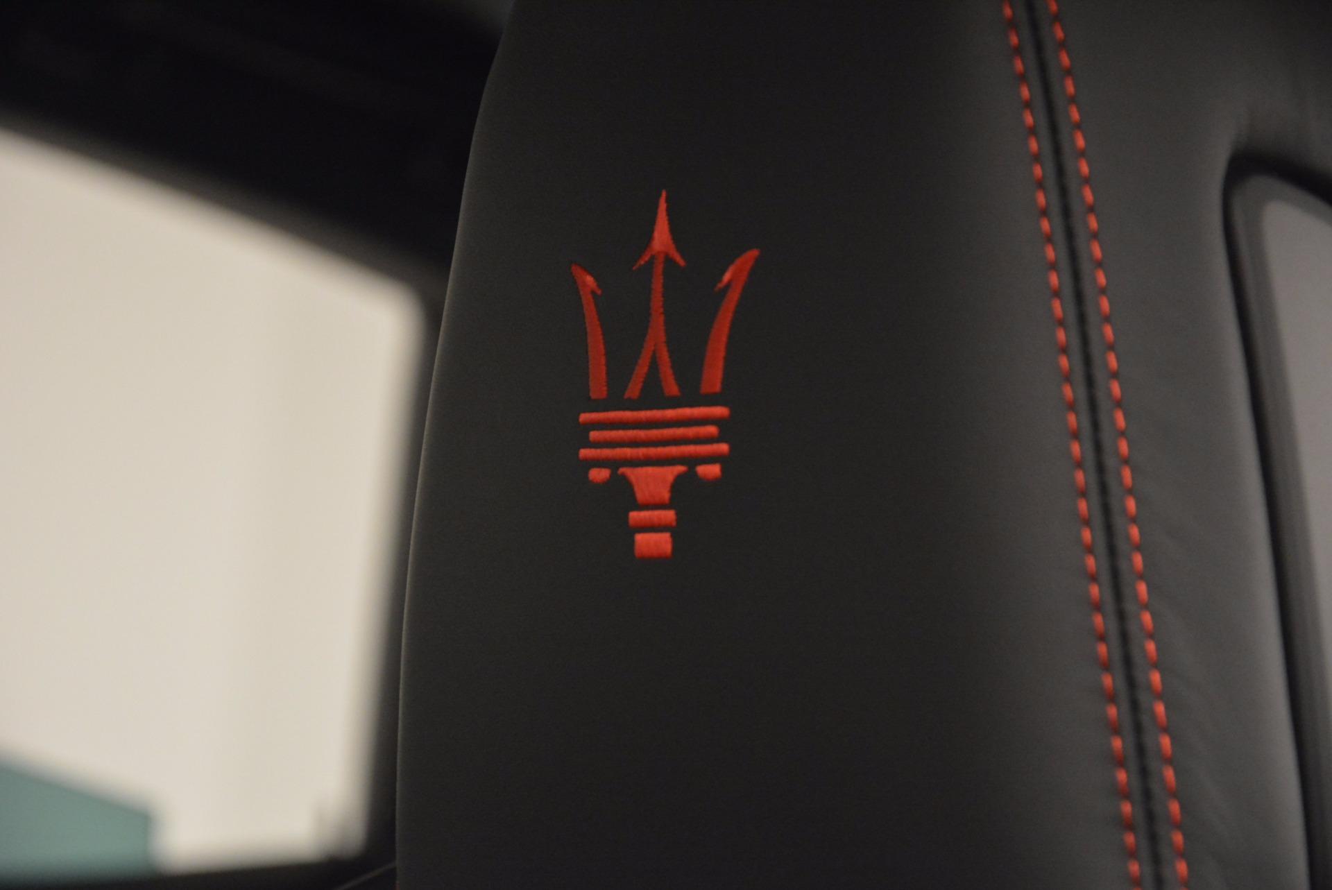 New 2017 Maserati Levante S For Sale In Greenwich, CT 1089_p17