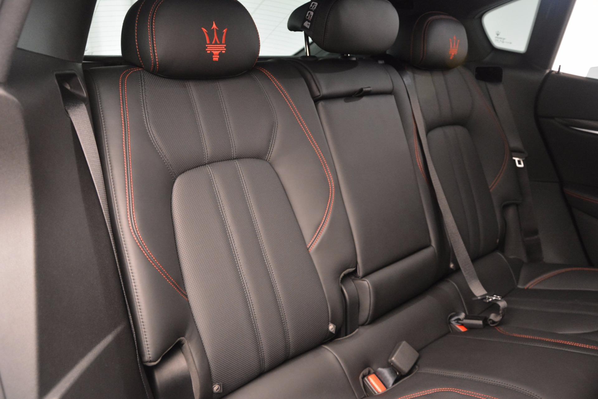 New 2017 Maserati Levante S For Sale In Greenwich, CT 1089_p26
