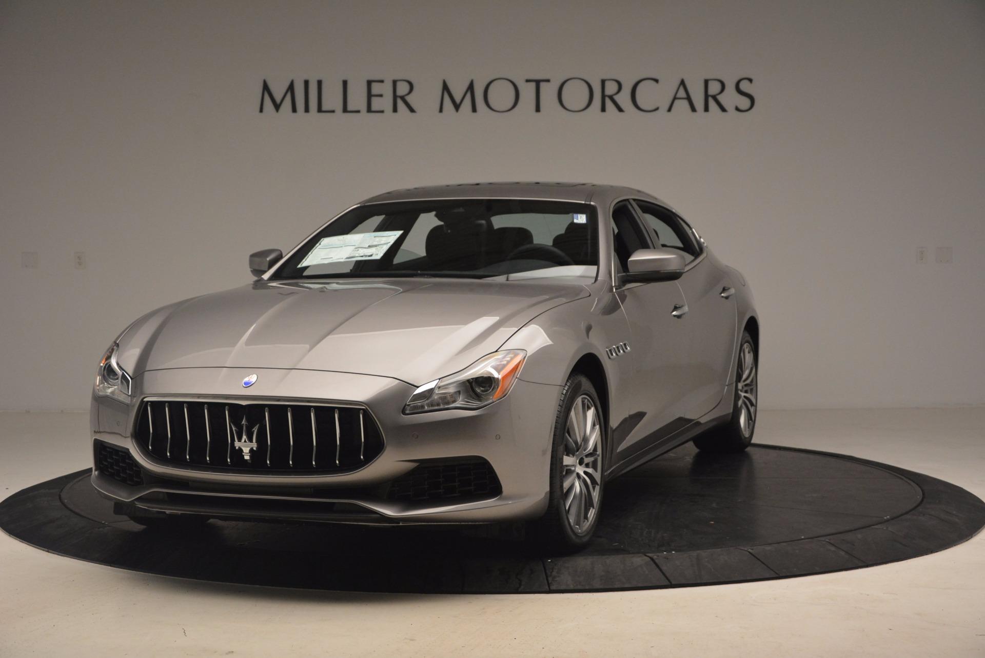 New 2017 Maserati Quattroporte SQ4 For Sale In Greenwich, CT 1090_main