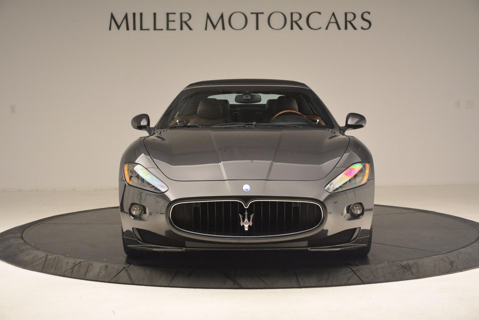 Used 2012 Maserati GranTurismo Sport For Sale In Greenwich, CT 1097_p19