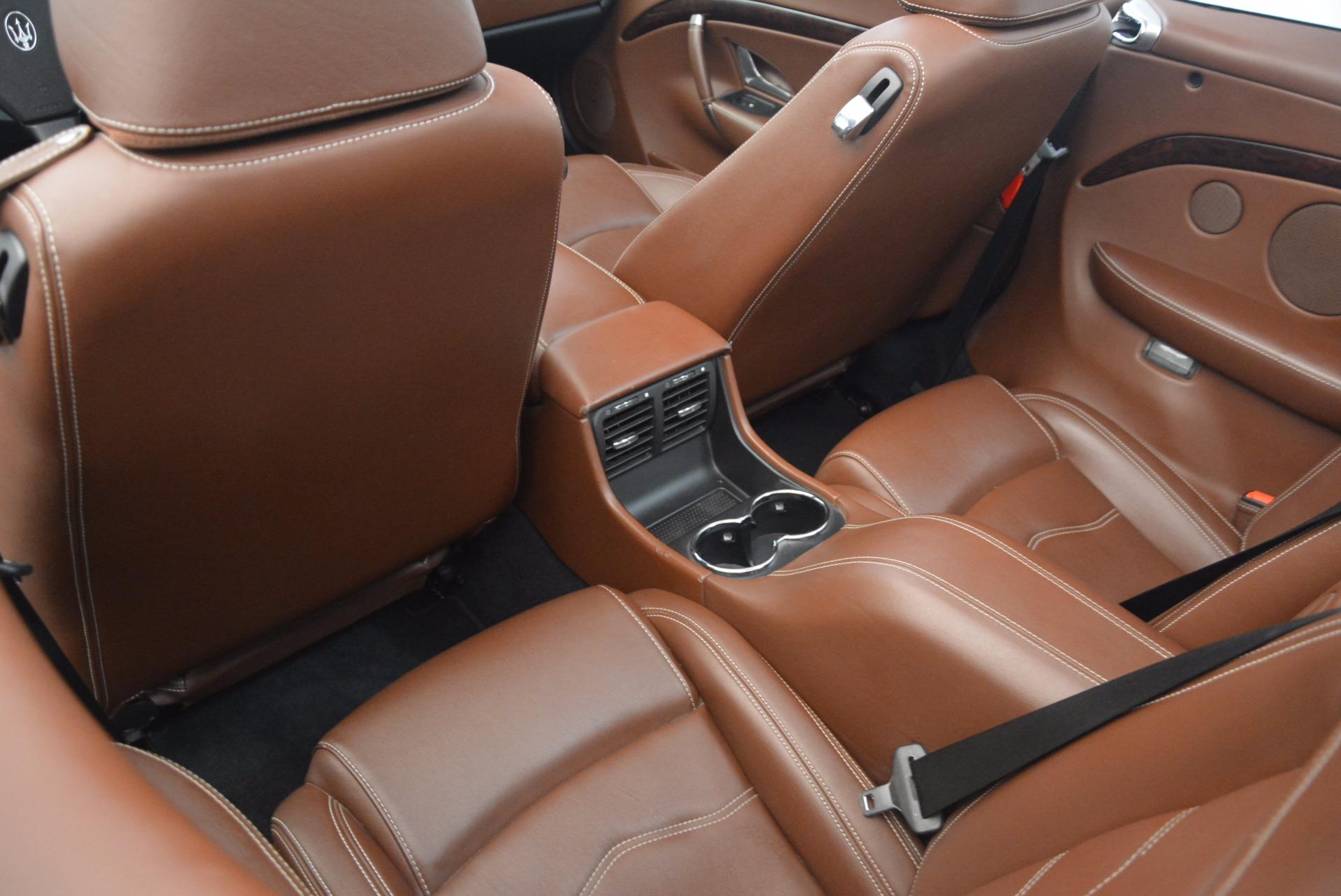 Used 2012 Maserati GranTurismo Sport For Sale In Greenwich, CT 1097_p24