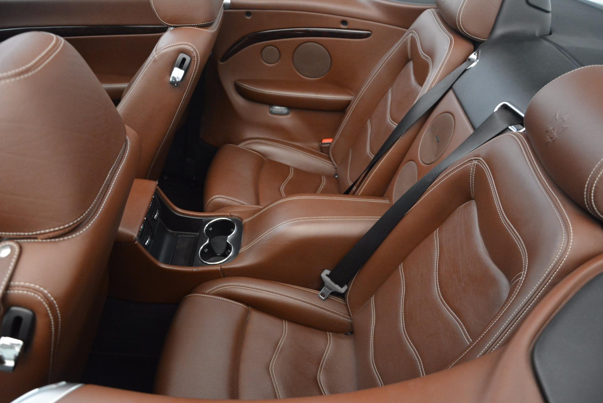 Used 2012 Maserati GranTurismo Sport For Sale In Greenwich, CT 1097_p25