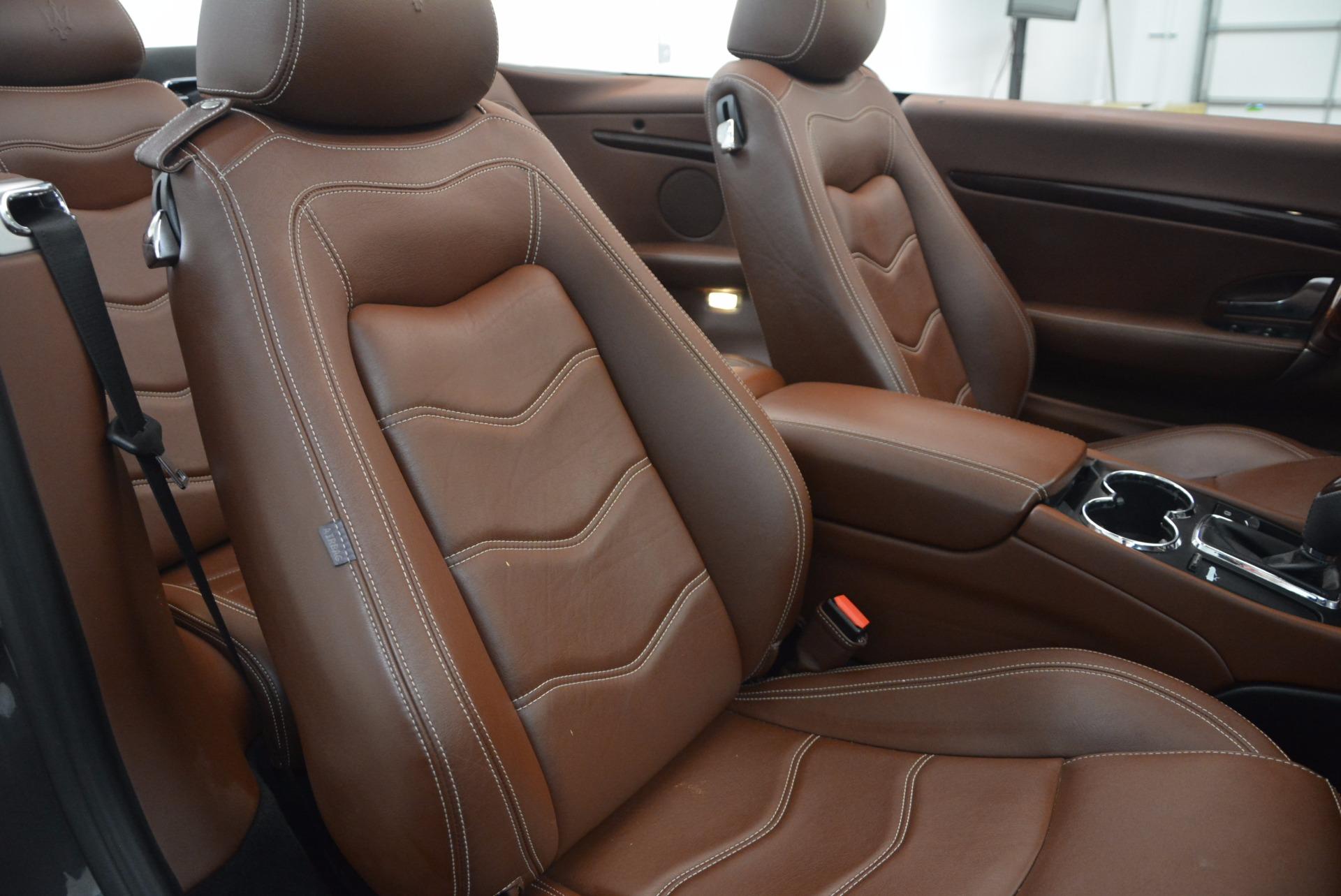 Used 2012 Maserati GranTurismo Sport For Sale In Greenwich, CT 1097_p29