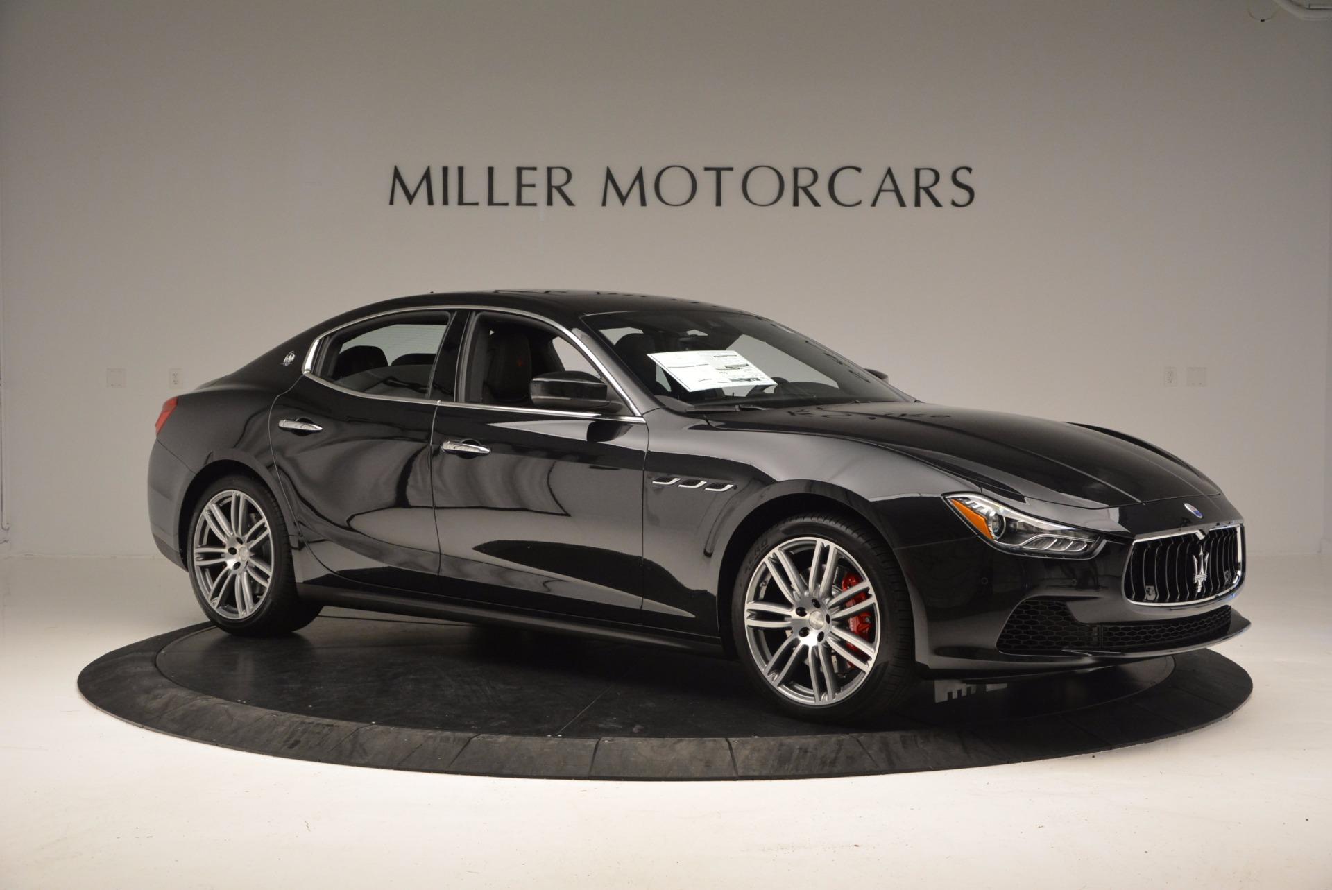 New 2017 Maserati Ghibli SQ4 For Sale In Greenwich, CT 1108_p10