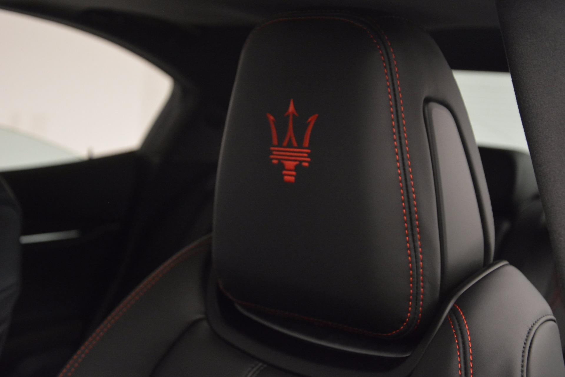 New 2017 Maserati Ghibli SQ4 For Sale In Greenwich, CT 1108_p19