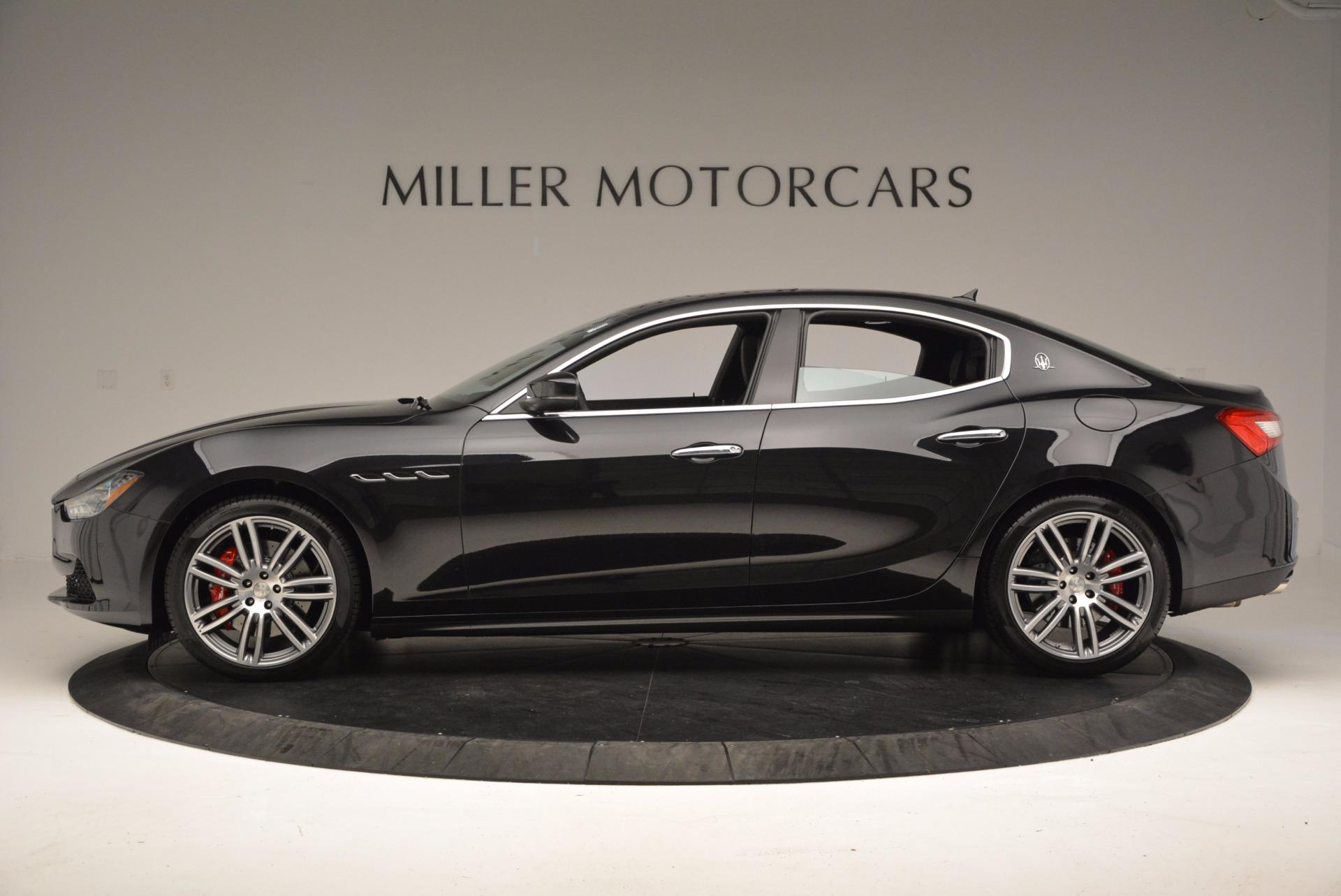 New 2017 Maserati Ghibli SQ4 For Sale In Greenwich, CT 1108_p3