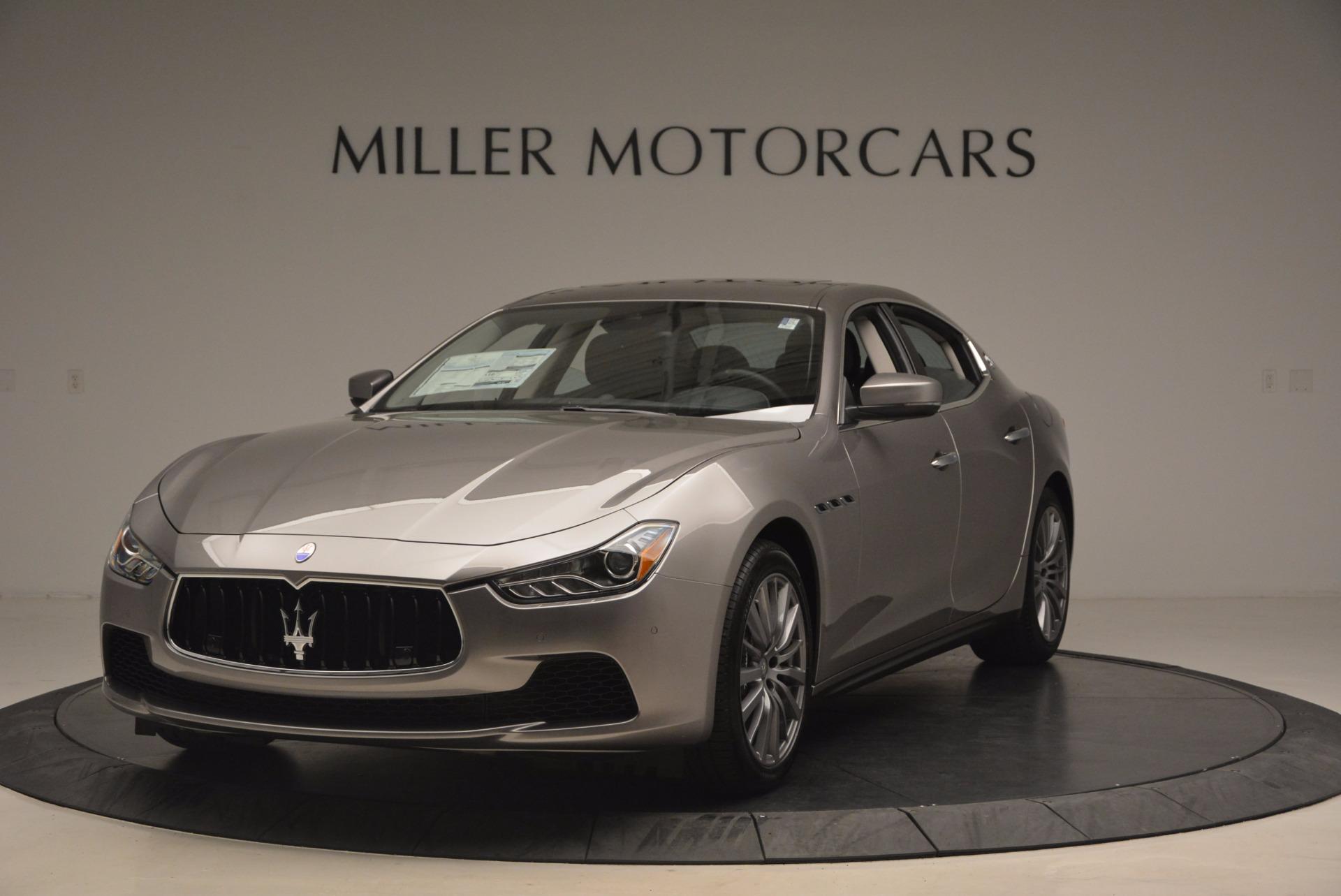 New 2017 Maserati Ghibli SQ4 For Sale In Greenwich, CT 1109_main