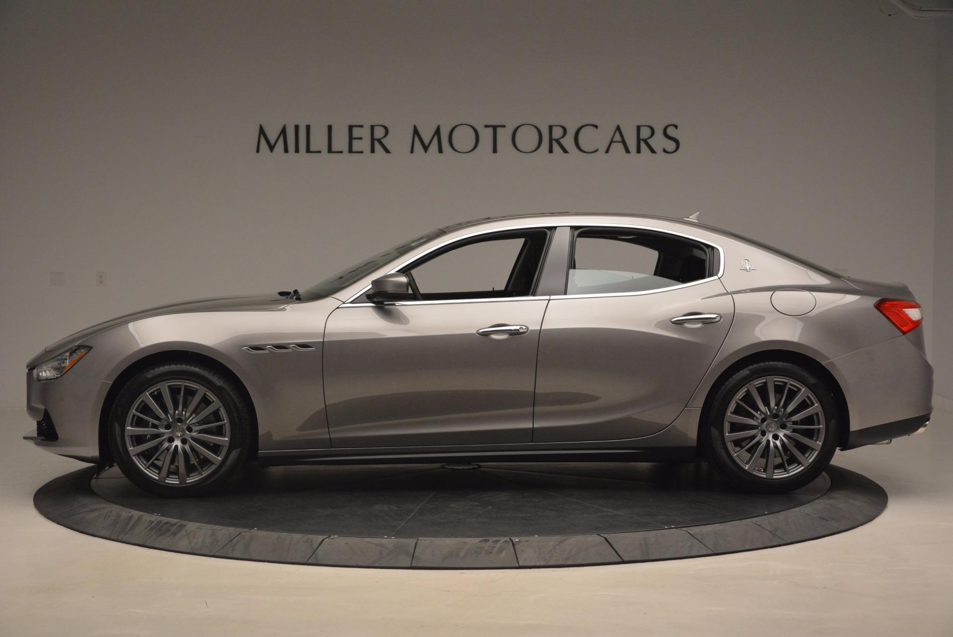 New 2017 Maserati Ghibli SQ4 For Sale In Greenwich, CT 1109_p3