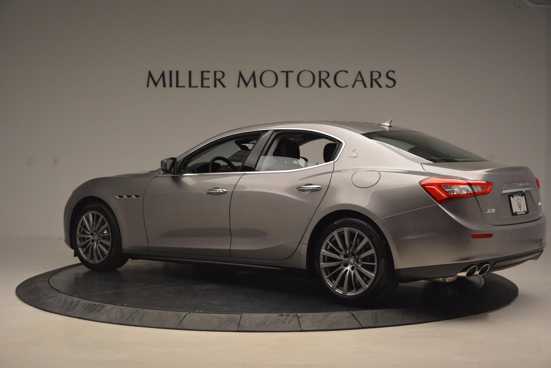 New 2017 Maserati Ghibli SQ4 For Sale In Greenwich, CT 1109_p4