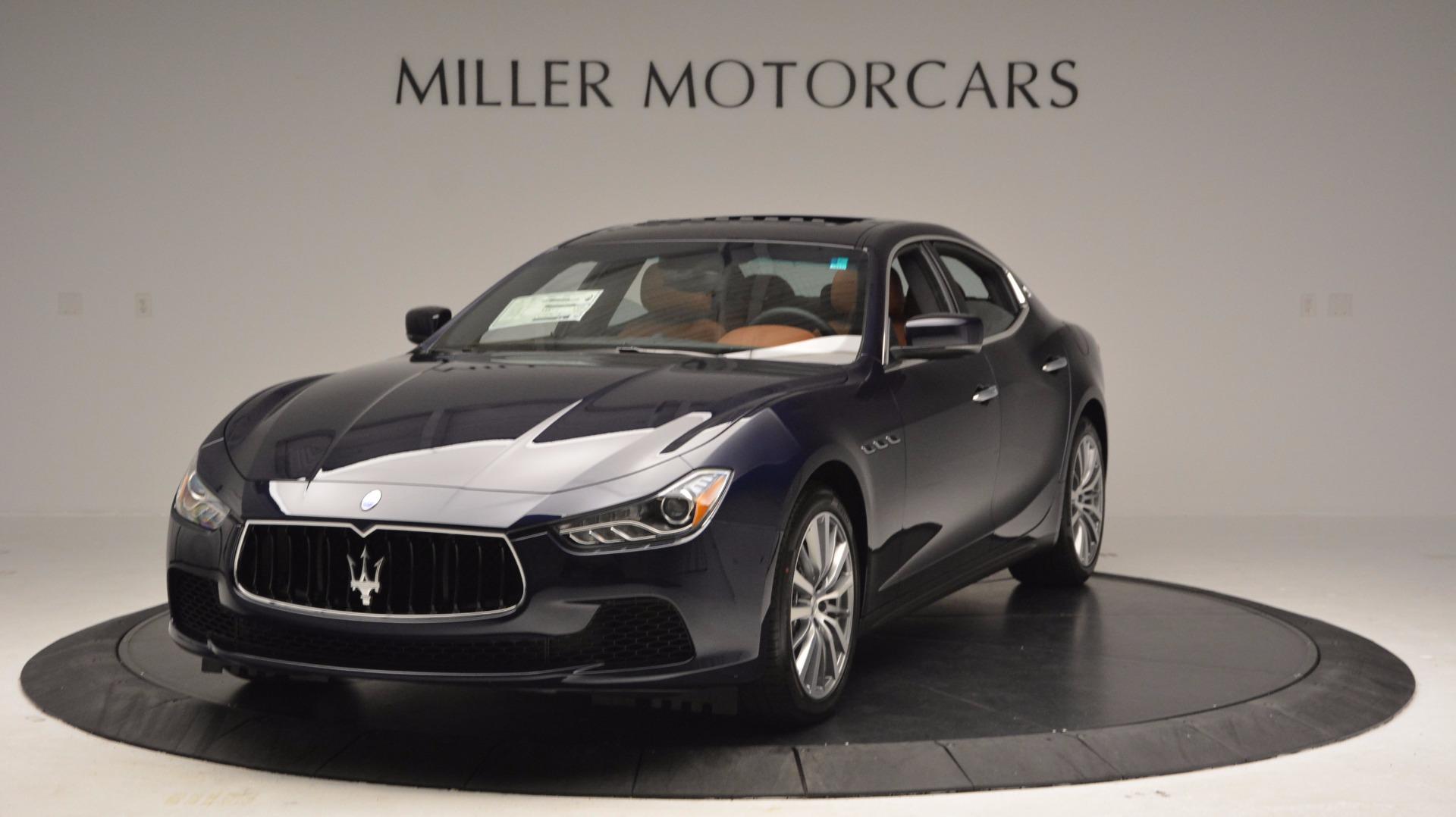 New 2017 Maserati Ghibli S Q4 For Sale In Greenwich, CT 1110_main