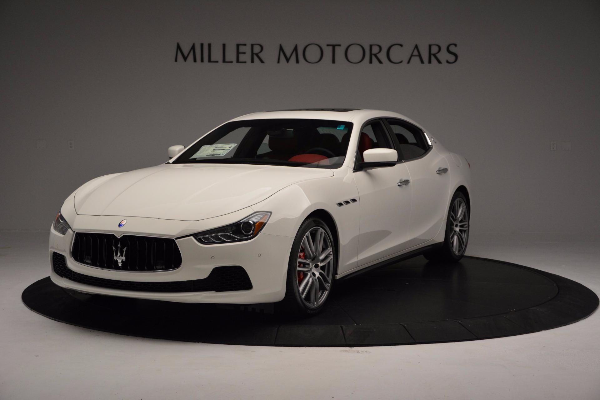 New 2017 Maserati Ghibli S Q4 For Sale In Greenwich, CT 1111_main