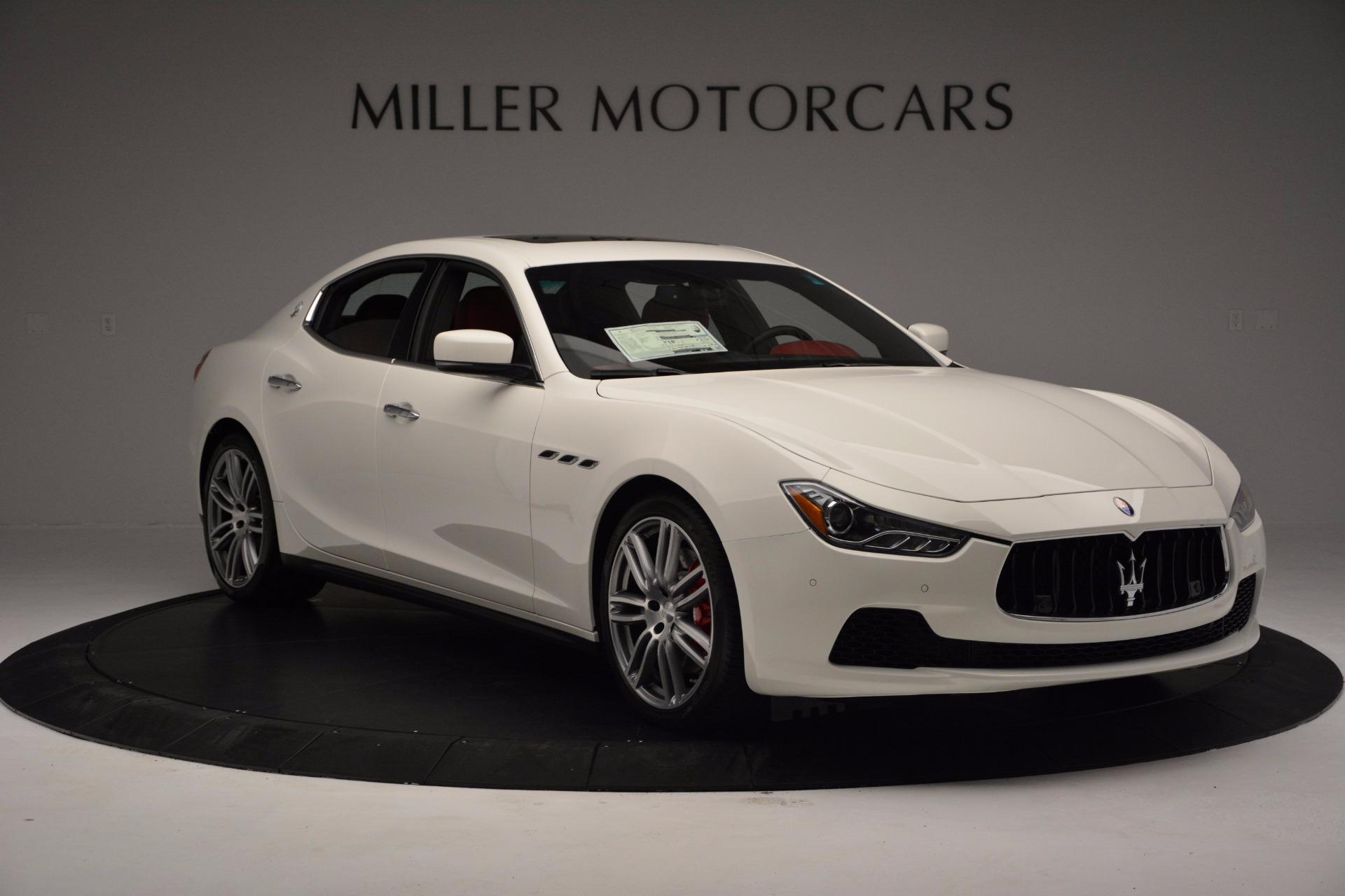 New 2017 Maserati Ghibli S Q4 For Sale In Greenwich, CT 1111_p11