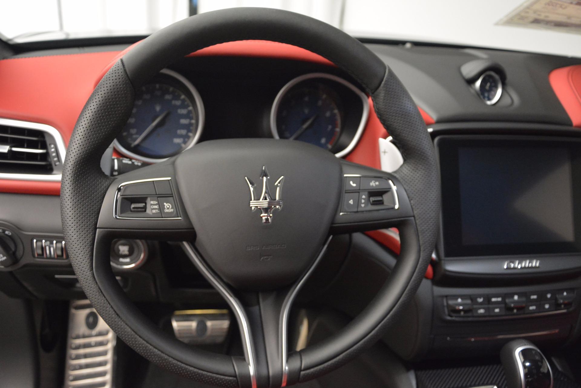 New 2017 Maserati Ghibli S Q4 For Sale In Greenwich, CT 1111_p17
