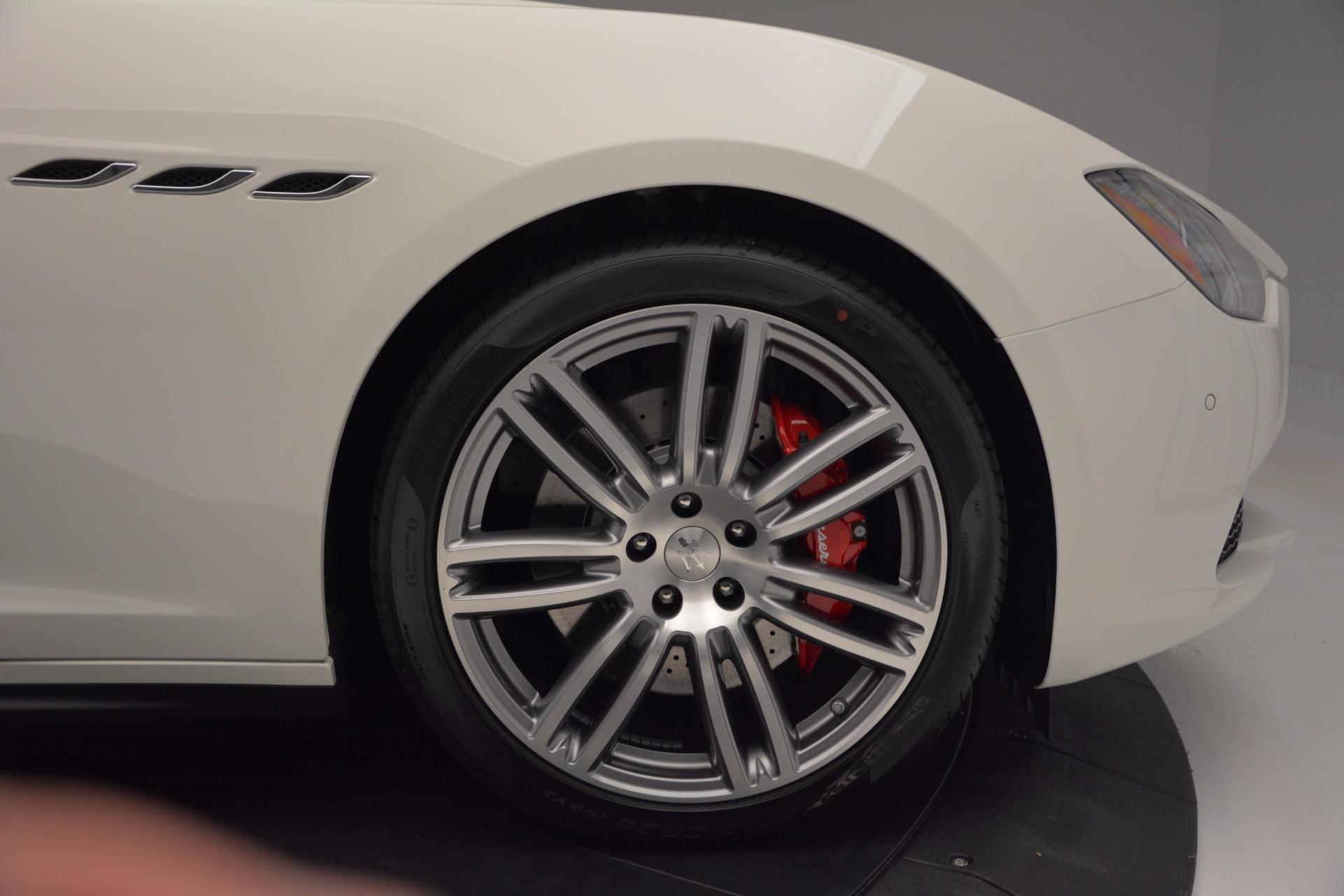 New 2017 Maserati Ghibli S Q4 For Sale In Greenwich, CT 1111_p27
