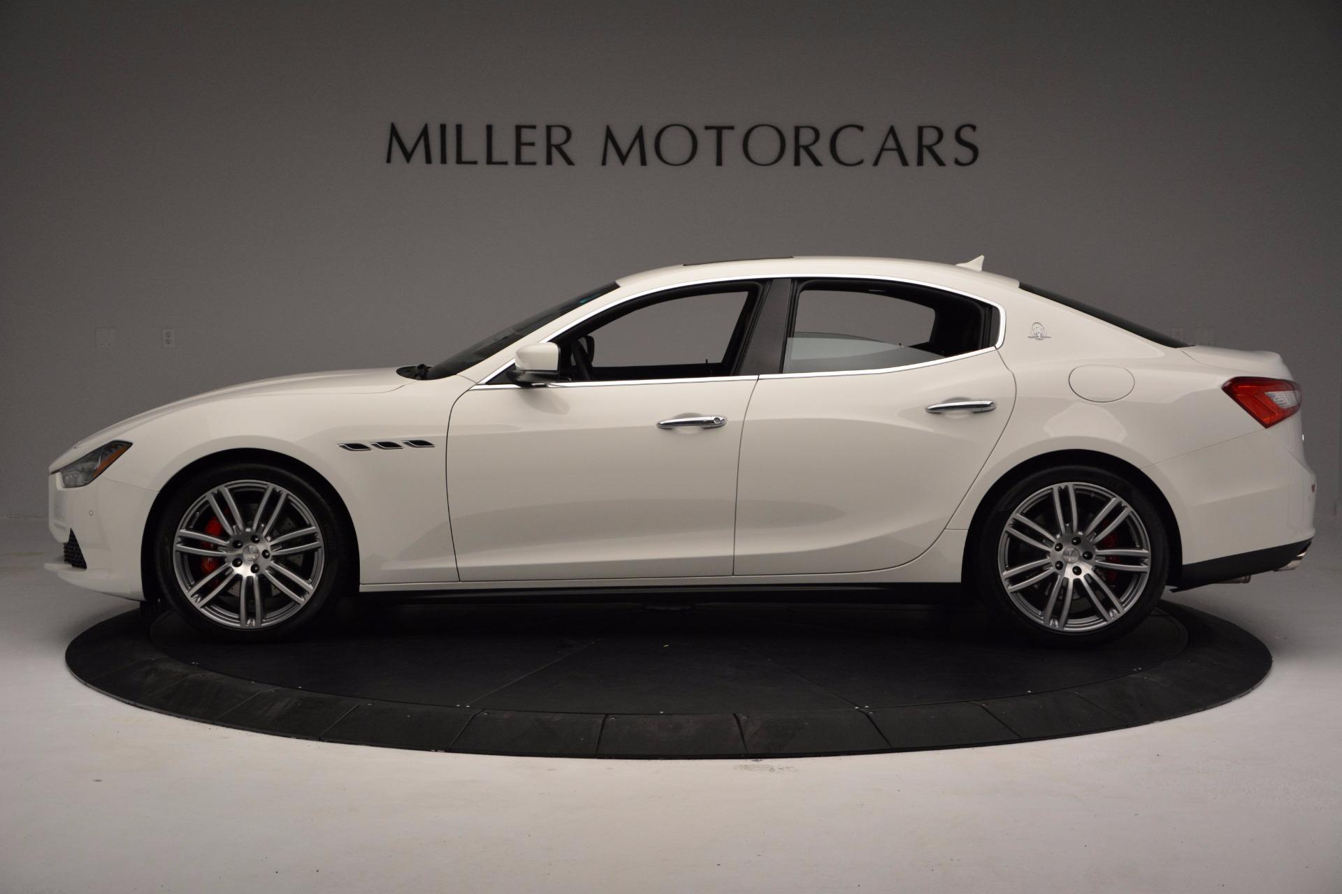 New 2017 Maserati Ghibli S Q4 For Sale In Greenwich, CT 1111_p3