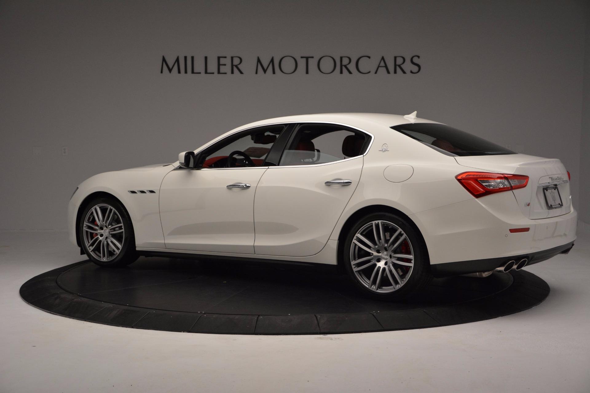 New 2017 Maserati Ghibli S Q4 For Sale In Greenwich, CT 1111_p4