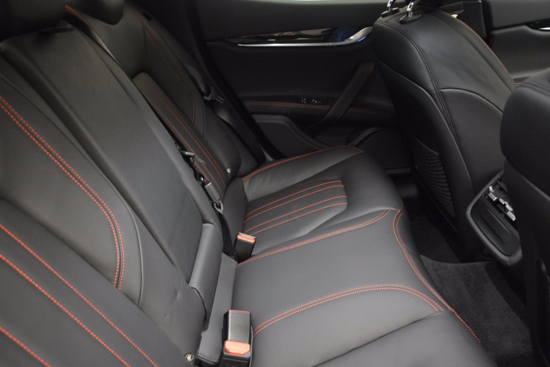 New 2017 Maserati Ghibli S Q4 For Sale In Greenwich, CT 1113_p22