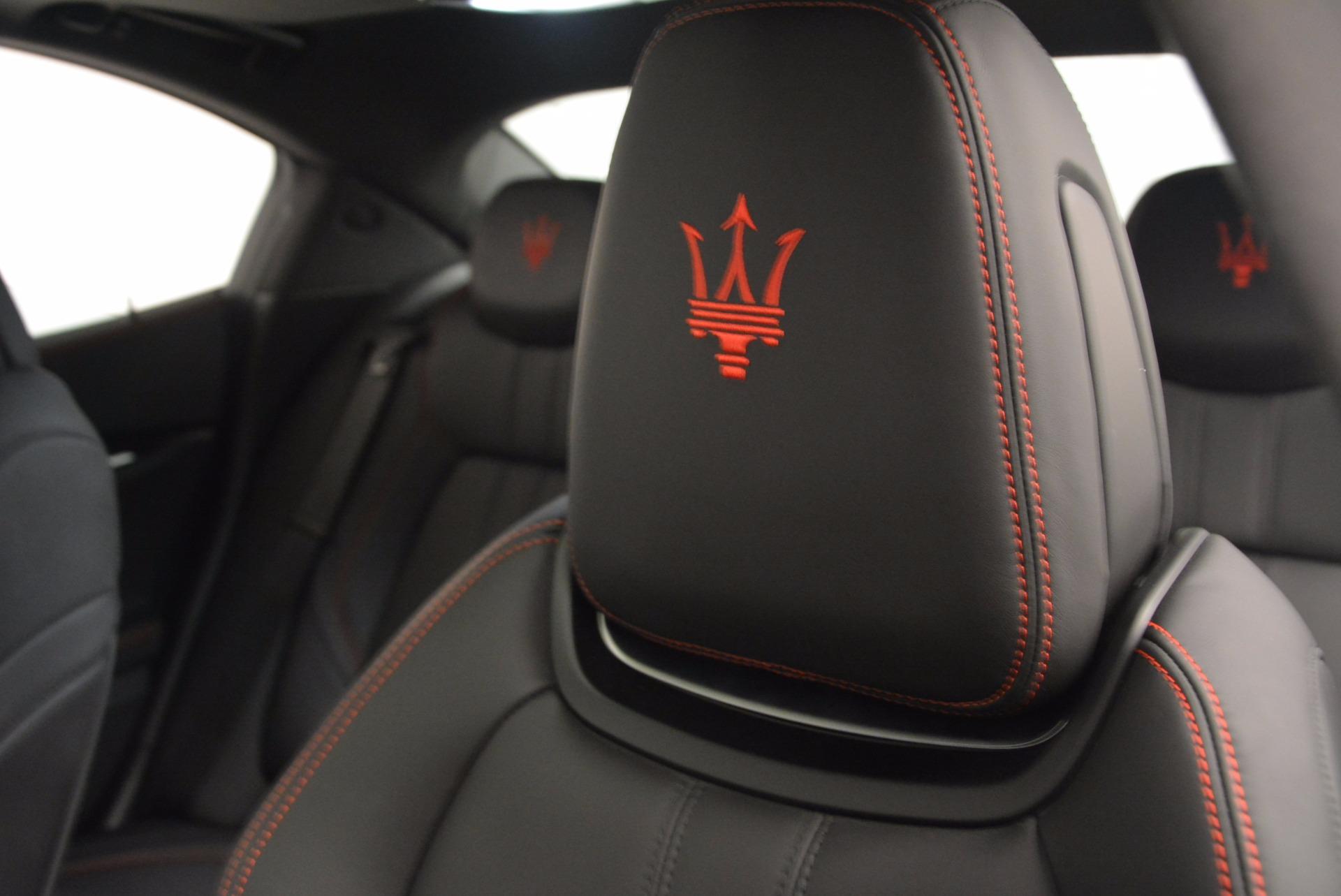 New 2017 Maserati Ghibli S Q4 For Sale In Greenwich, CT 1114_p16