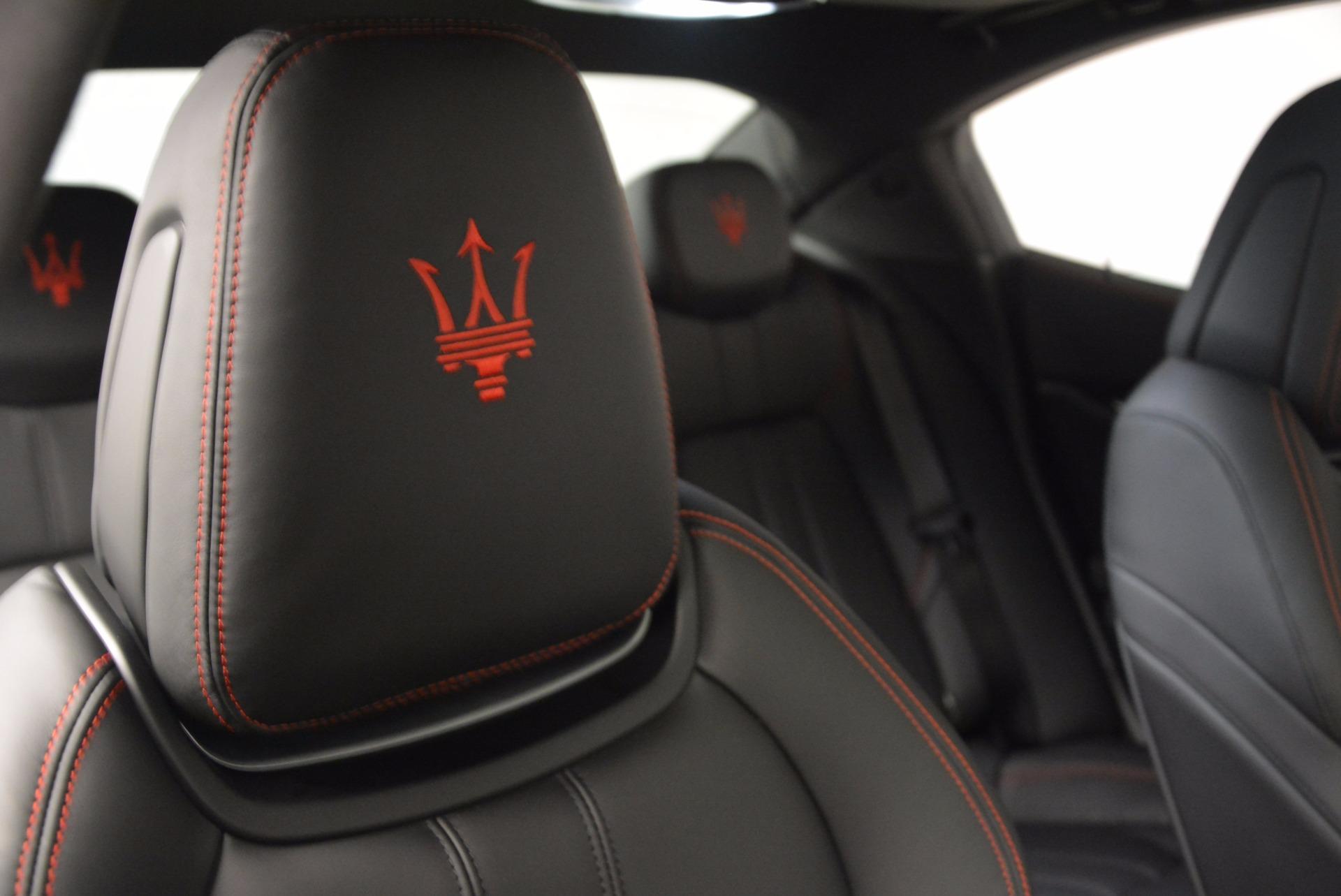New 2017 Maserati Ghibli S Q4 For Sale In Greenwich, CT 1114_p24