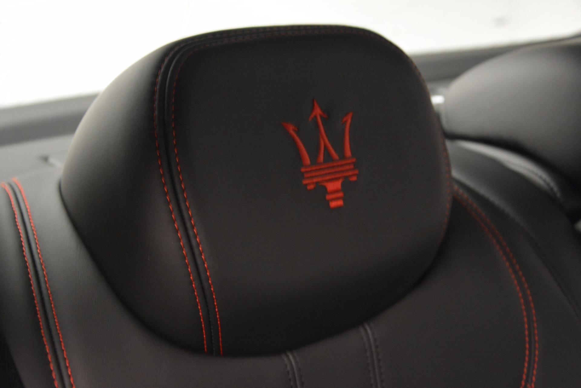 New 2017 Maserati Ghibli S Q4 For Sale In Greenwich, CT 1114_p28