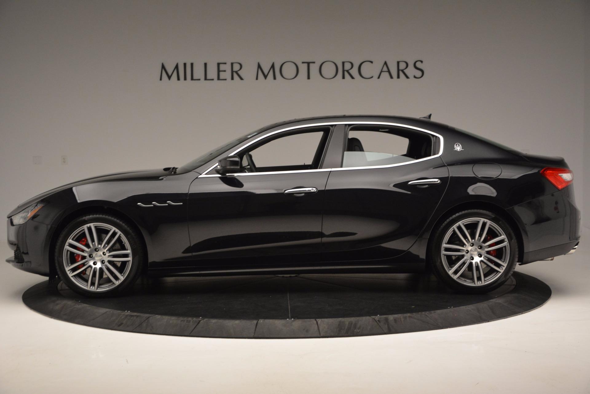 New 2017 Maserati Ghibli S Q4 For Sale In Greenwich, CT 1114_p3