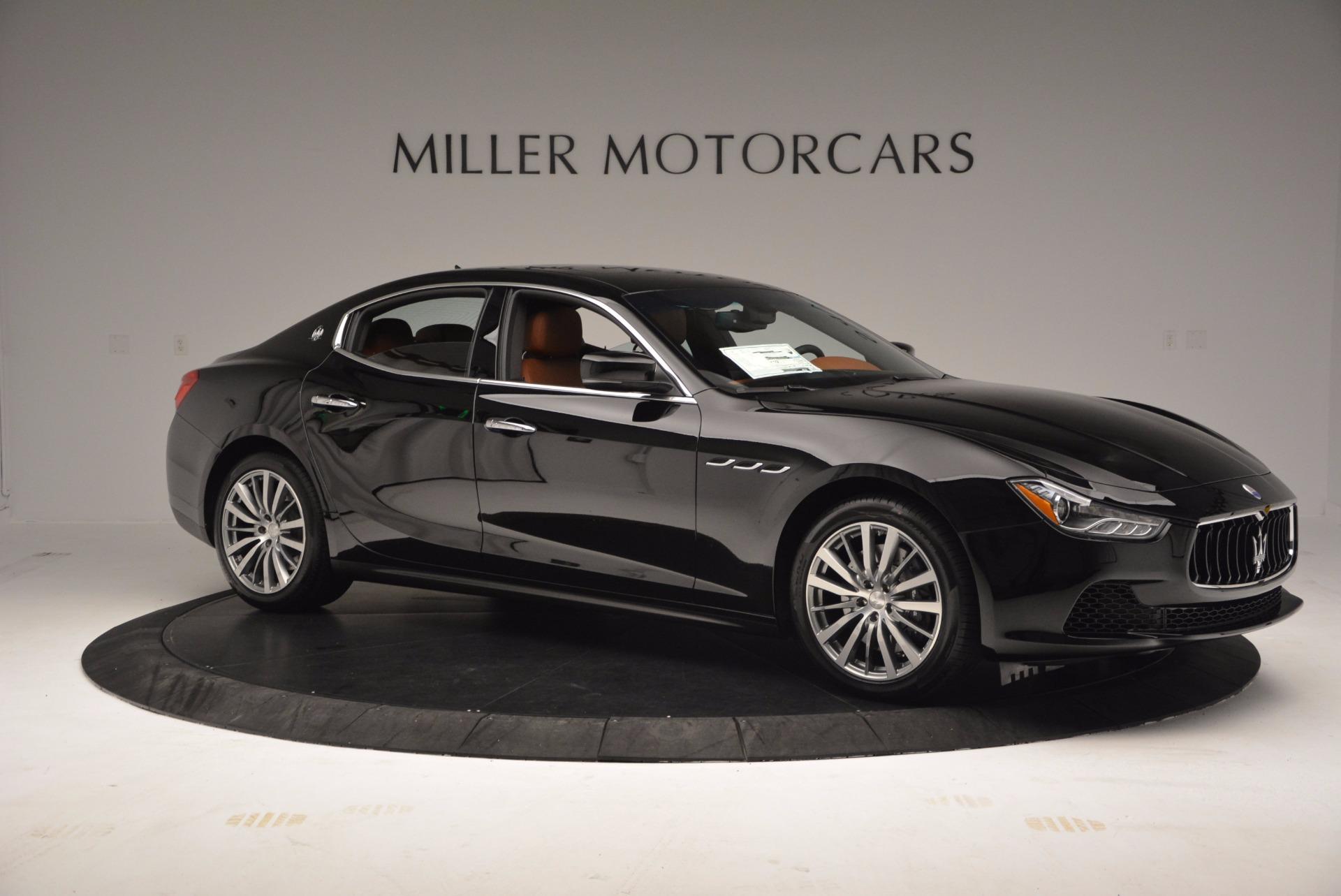 New 2017 Maserati Ghibli S Q4 EX-LOANER For Sale In Greenwich, CT 1115_p10