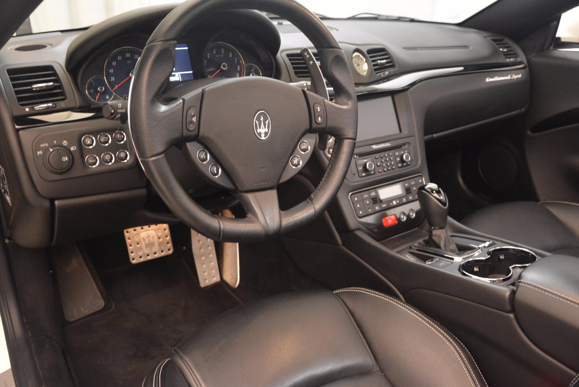 Used 2014 Maserati GranTurismo Sport For Sale In Greenwich, CT 1128_p43