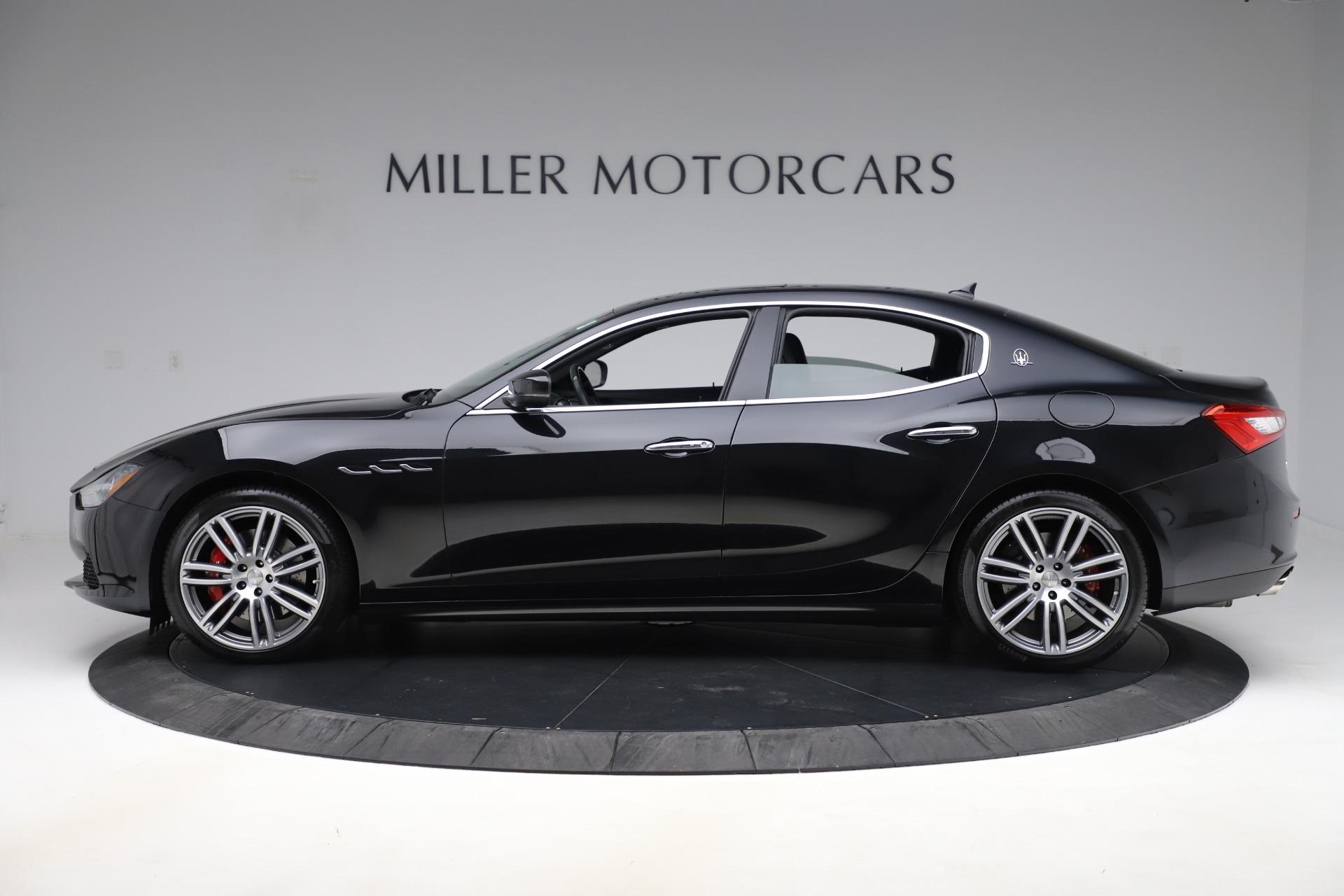 New 2017 Maserati Ghibli S Q4 For Sale In Greenwich, CT 1132_p3