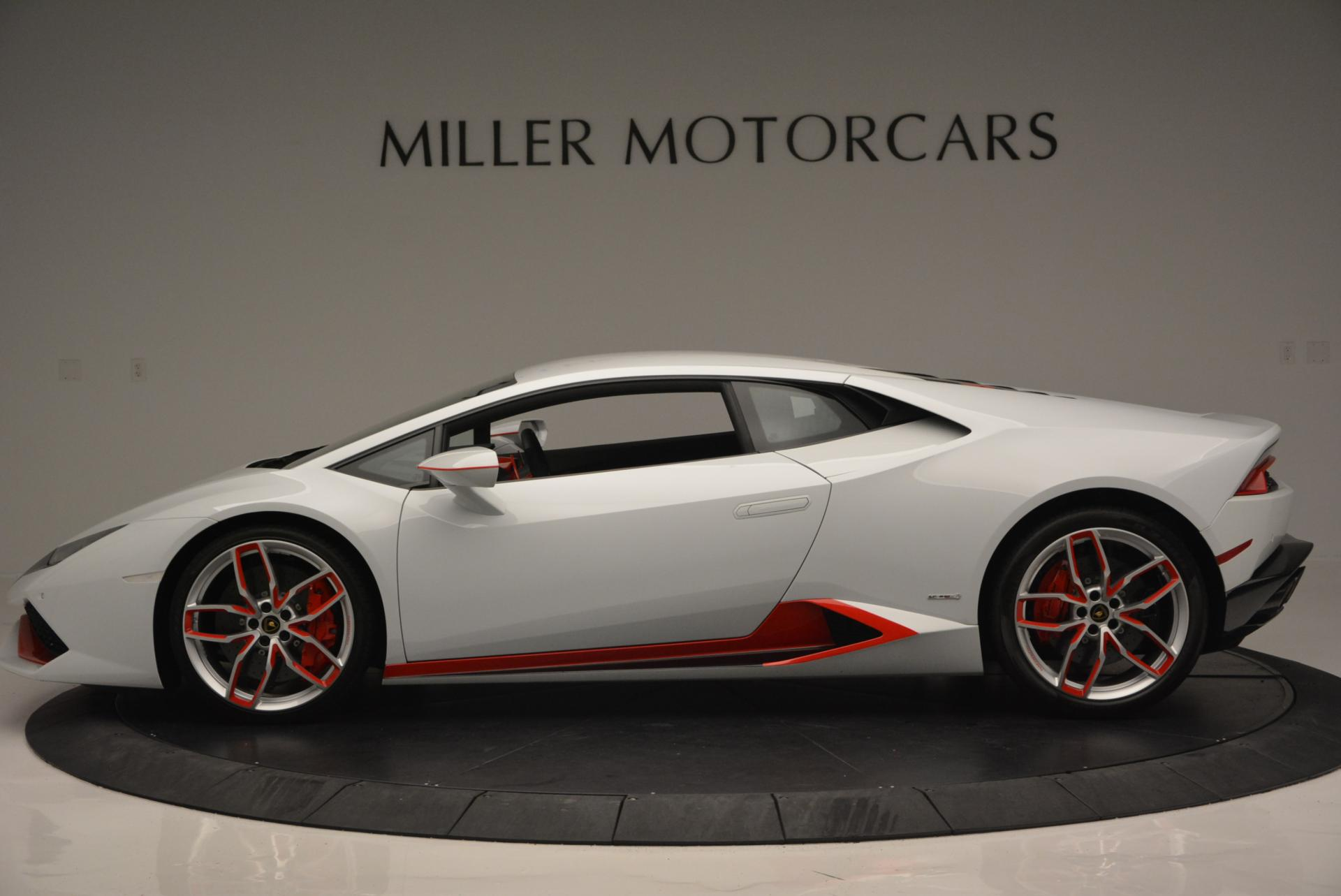 Used 2015 Lamborghini Huracan LP610-4 For Sale In Greenwich, CT 114_p3