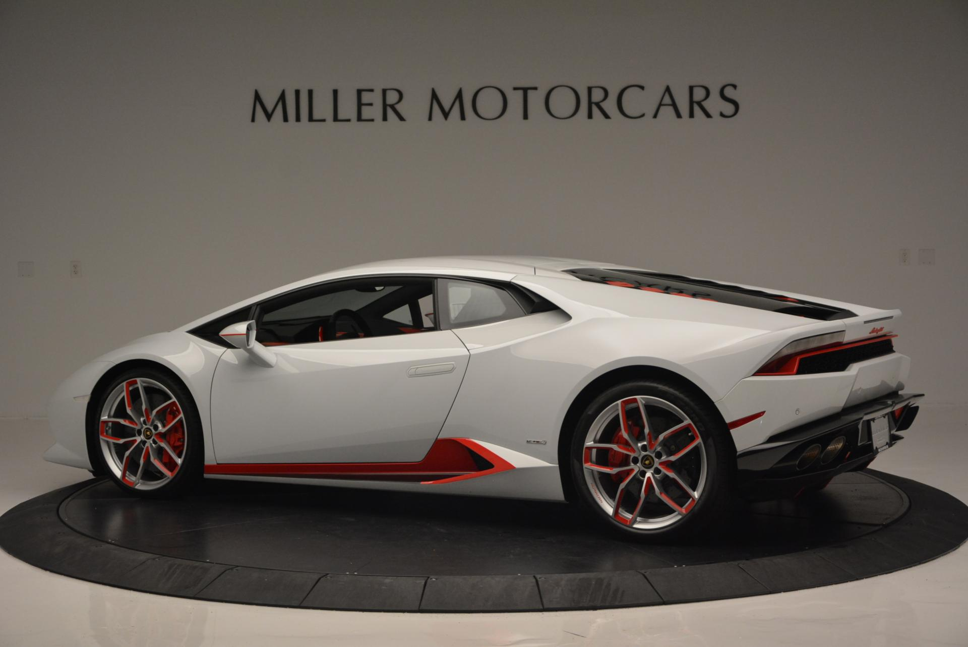 Used 2015 Lamborghini Huracan LP610-4 For Sale In Greenwich, CT 114_p4