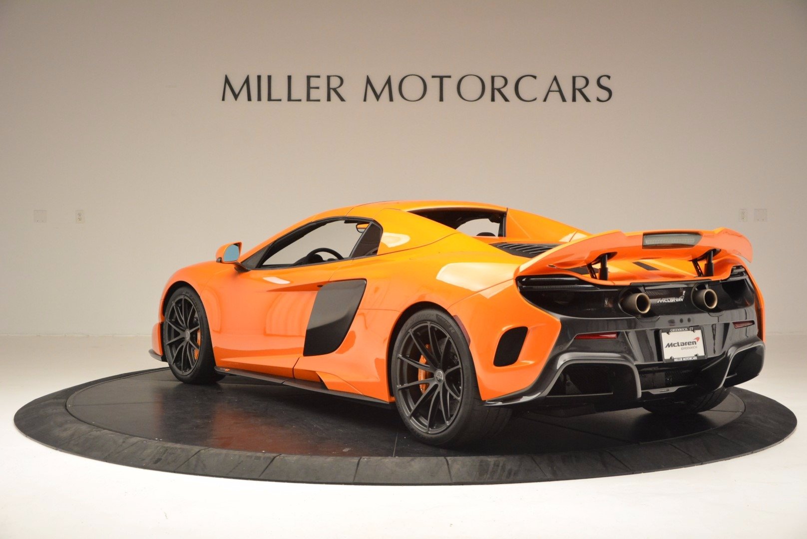 Used 2016 McLaren 675LT Spider Convertible For Sale In Greenwich, CT 1150_p16