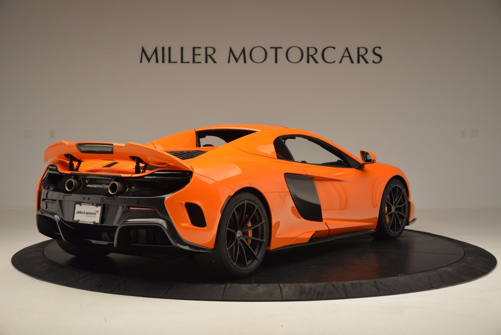 Used 2016 McLaren 675LT Spider Convertible For Sale In Greenwich, CT 1150_p18
