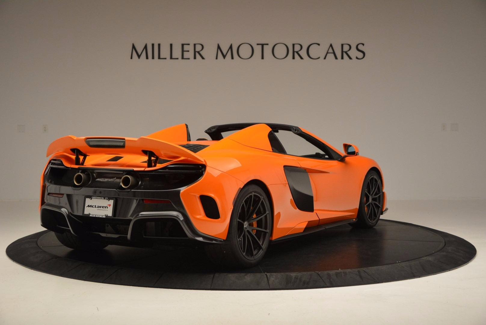 Used 2016 McLaren 675LT Spider Convertible For Sale In Greenwich, CT 1150_p7
